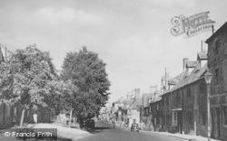 Chipping Campden, Lower High Street c.1955