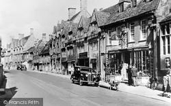 Chipping Campden, Main Street c.1949