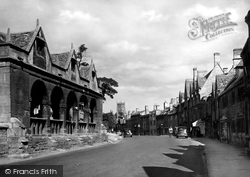 Chipping Campden, Market Hall And High Street 1949