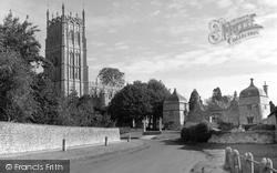 Chipping Campden, St James' Church 1958