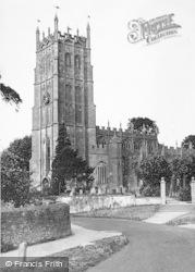 Chipping Campden, St James' Church c.1950