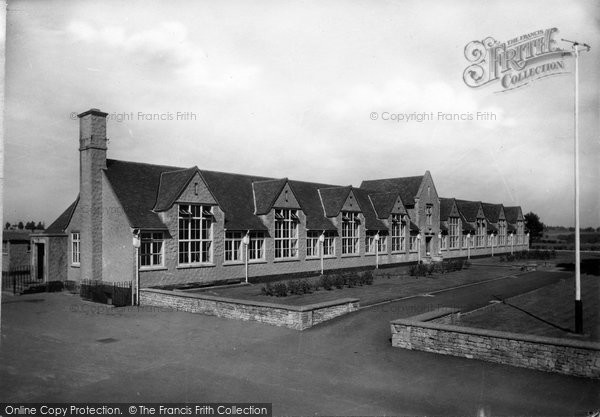 The Grammar School c1950, Chipping Campden