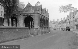 Chipping Campden, The Market Hall c.1949