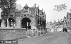 Chipping Campden, The Market Hall c.1950