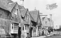Chipping Campden, The Old Houses c.1950