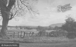 Chipping, Jeffrey And Pendle Hills c.1955