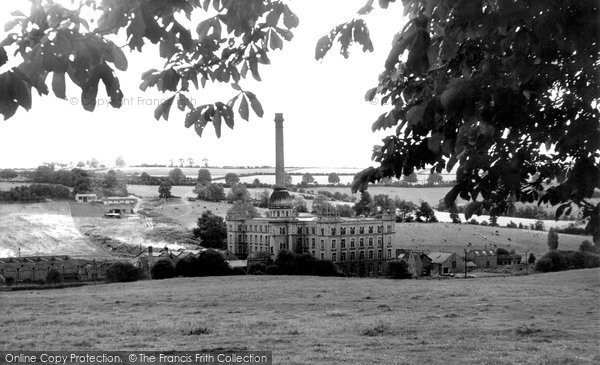 Chipping Norton,Bliss Tweed Mills c1960,Oxfordshire