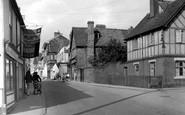 Chipping Ongar, High Street c1955