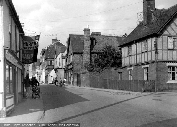 Photo of Chipping Ongar, High Street c1955
