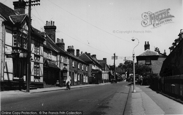 High Street Ongar, 1955, Essex.   © Copyright The Francis Frith Collection 2005. http://www.francisfrith.com