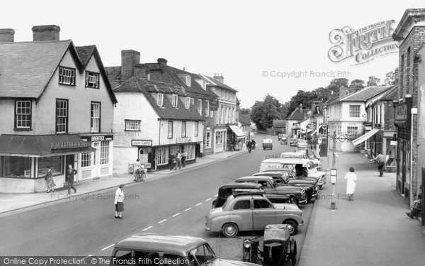 Photo of Ongar, High Street c1955, ref. o19062