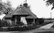 Chipping Ongar, the Lodge, Shelley Hall c1950