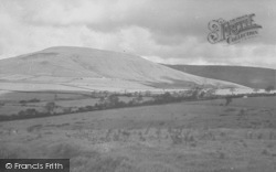 Chipping, Parlick Hill c.1955