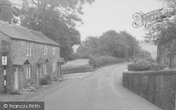 Chipping, School Lane c.1955