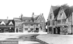 Gable House And Portcullis Hotel 1904, Chipping Sodbury
