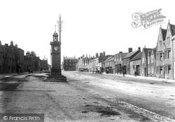 High Street And Clock Tower 1903, Chipping Sodbury