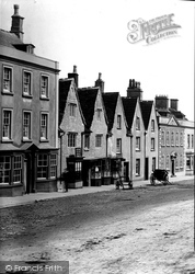 Houses In The High Street 1903, Chipping Sodbury