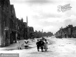 Market Place 1903, Chipping Sodbury