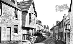 Old House, Hatters Lane 1904, Chipping Sodbury