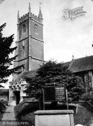 St John The Baptist Church c.1960, Chipping Sodbury