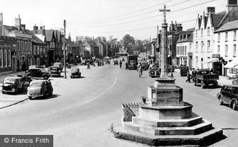 Chipping Sodbury, War Memorial c1955