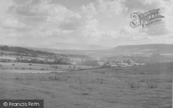 Chipping, The Village From Parlick c.1955