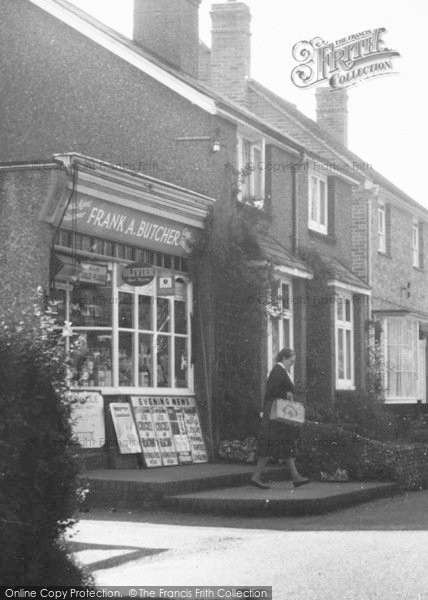 Photo of Chipstead, High Road Newsagent c.1960