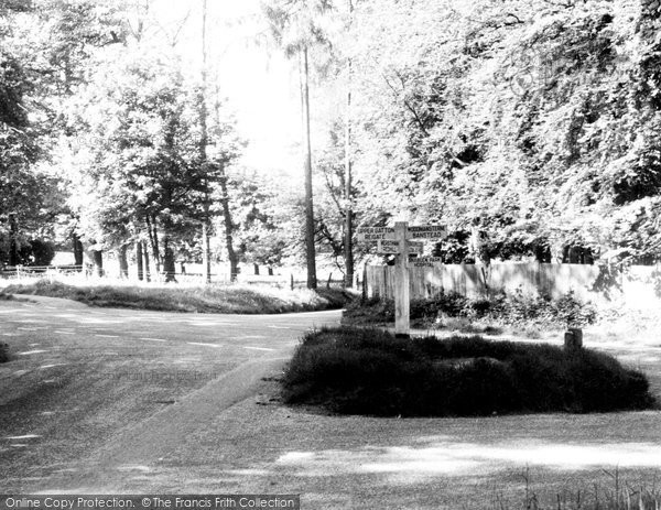 Photo of Chipstead, Hogs Cross c.1955