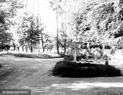 Chipstead, Hogs Cross c.1955