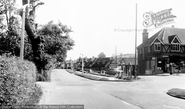 Photo of Chipstead, Outwood Lane c.1960