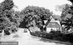 Chipstead, Ruffetts Cottages c.1955