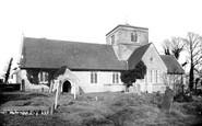 Chipstead, St Margaret's Church 1886