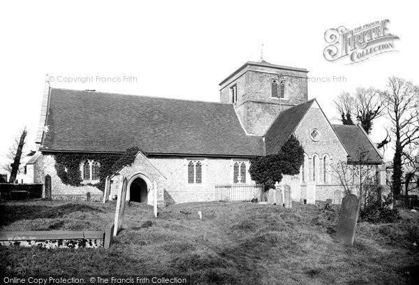 Chipstead, St Margaret's church, 1886. Reproduced courtesy of The Francis Frith Collection
