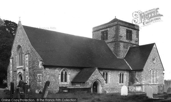 Photo of Chipstead, St Margaret's Church c.1955