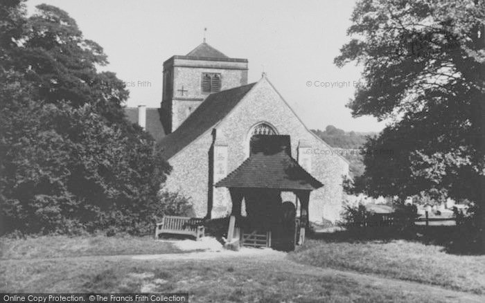 Photo of Chipstead, St Margaret's Church c.1960