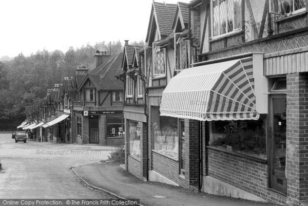 Photo of Chipstead, Station Parade c.1955