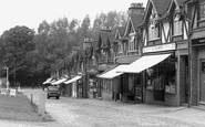 Chipstead, Station Parade c1955