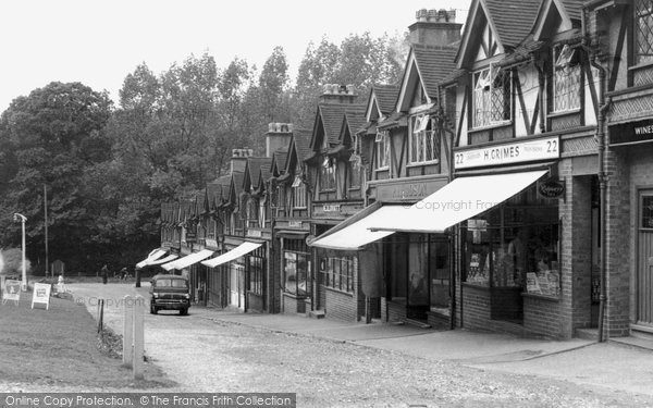 Photo of Chipstead, Station Parade c1955