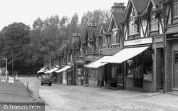 Chipstead, Station Parade c.1955