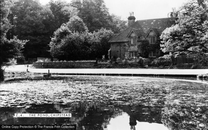 Photo of Chipstead, The Pond c.1950