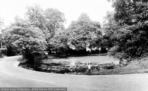 Photo of Chipstead, The Pond c.1960