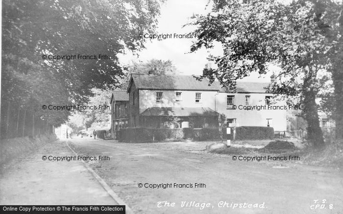 Photo of Chipstead, The Village c.1955