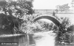 Chirk, A View On The River Ceiriog c.1930