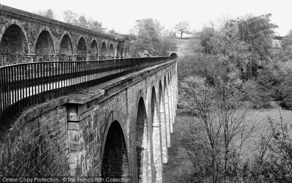 Chirk, Aqueduct And Viaduct, Ceiriog Valley 1939