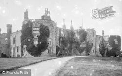 Chirk, Castle 1888