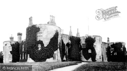 Chirk, Castle c.1869