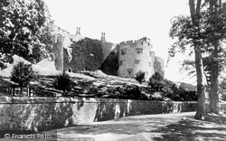 Castle From The Drive c.1861, Chirk