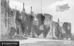 Chirk, Castle, North Gate 1888