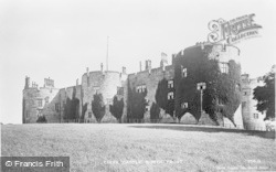 Chirk, Castle, The North Front c.1880