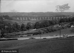 Cefn Viaduct 1939, Chirk